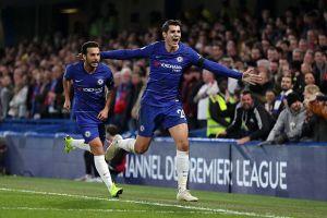 Song sát Morata – Pedro lập công, Chelsea hạ đẹp Crystal Palace