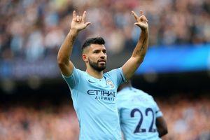 Mốc 150 bàn thắng đặc biệt của Sergio Aguero cho Man City