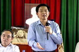 Chủ tịch Bình Định: 'Nếu để dự án nào ảnh hưởng đến đời sống của người dân, tôi xin từ chức'