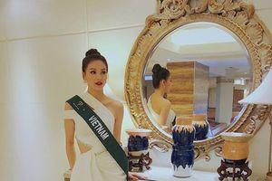 'Quên lối về' với những trang phục gợi cảm của Phương Khánh tại Hoa hậu Trái đất 2018
