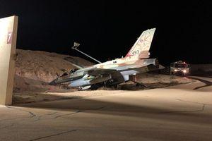 F-16I Israel gặp nạn khi mang GBU-38 tấn công Syria