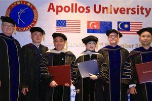 Tiết lộ về ĐH Mỹ cấp bằng cho ông Huỳnh Uy Dũng