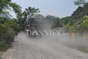 Yên Bái: Đường liên xã bị 'băm nát' vì khai thác, vận chuyển đá
