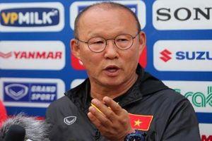 Trước khi đội tuyển Việt Nam dự AFF Cup, HLV Park Hang-seo nói gì?