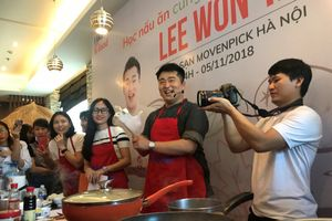 Truyền bá tinh hoa của ẩm thực Hàn Quốc tới người dân Việt Nam