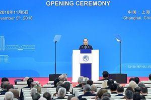 Thủ tướng Nguyễn Xuân Phúc dự khai mạc và phát biểu tại Hội chợ CIIE