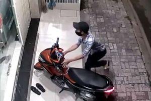 Liên tiếp trộm xe máy để lấy tiền mua ma túy đá, chơi game