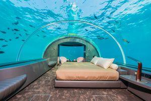 Ấn tượng khách sạn dưới biển ở Maldives