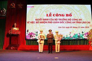 Bổ nhiệm 2 tân Phó giám đốc Công an tỉnh Lào Cai