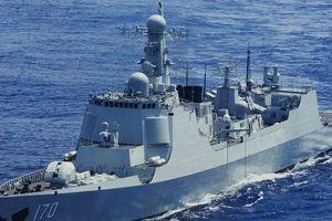 Giáp mặt chiến hạm Mỹ - Nhật ở Biển Đông, TQ phân biệt đối xử như thế nào?