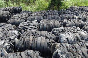 Kiến nghị bán 450 tấn lốp ô tô cũ nhập khẩu