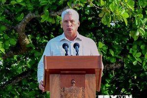 Chủ tịch Cuba cùng Phu nhân sắp thăm hữu nghị chính thức Việt Nam