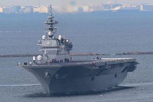 Chiến hạm Trung Quốc nhắn tin chào buổi sáng cho tàu sân bay Nhật Bản trên Biển Đông