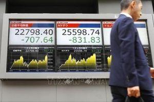 Phiên đầu tuần, thị trường chứng khoán châu Á đi xuống