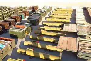 Quân đội Syria thu khối lượng lớn vũ khí của khủng bố ở Daraa, Quneitra