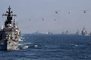 Nhật-Mỹ tập trận khủng, phối hợp đối phó Trung Quốc trên biển Hoa Đông