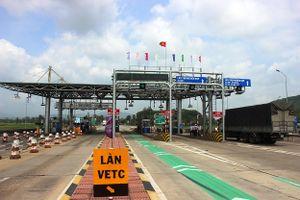 BOT Bắc Bình Định thu phí trở lại từ 21h ngày 5/11