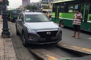 Khách Việt bất ngờ với các trang bị trên Hyundai SantaFe 2019