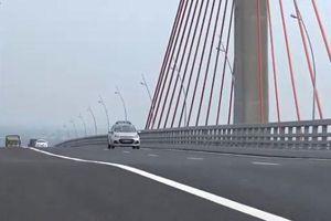 Bộ GTVT yêu cầu rà soát cầu Bạch Đằng nghi bị lún khiến ô tô 'dập dềnh'