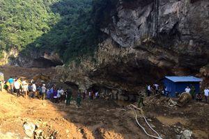 Vụ sập cửa hang Cột Cờ ở Hòa Bình: Cố tình khai thác vàng trái phép, chủ bãi bị tạm giữ