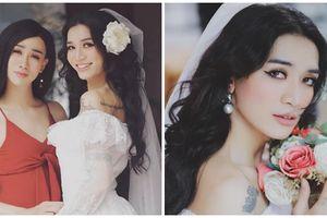 BB Trần lần đầu diện váy cưới 'gây thương nhớ', thách thức các cô dâu