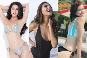 Đọ nhan sắc gợi cảm của Hoa hậu Phương Khánh và 3 á hậu