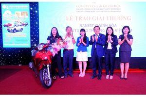 Trao giải Sanest Khánh Hòa tại Phú Yên