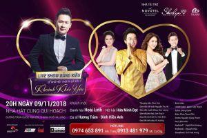 Hé lộ những điểm đặc biệt về live show Bằng Kiều tại Hạ Long