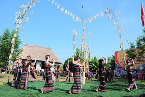 'Bài ca kết đoàn' tại Làng Văn hóa - Du lịch các dân tộc Việt Nam