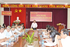 Tây Ninh: Sắp xếp, kiện toàn tổ chức bộ máy trong hệ thống chính trị