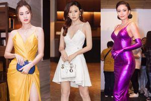 Thời trang sao Việt:Ninh Dương Lan Ngọc mặc đẹp nhất tuần, Mâu Thủy phản cảm trong trang phục bó sát