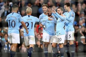 Man City chiếm giữ đỉnh bảng sau vòng 11 Premier League