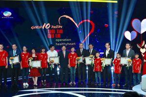 10 năm chương trình 'Trái tim cho em': 4.500 trẻ em nghèo được mổ tim miễn phí
