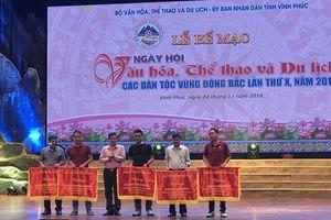 Bế mạc Ngày hội Văn hóa, Thể thao và Du lịch các dân tộc vùng Đông Bắc