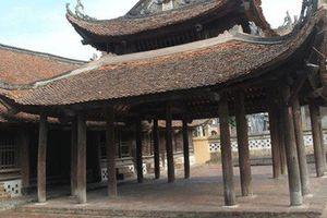 Bộ VHTTDL thỏa thuận dự án tu bổ, tôn tạo di tích đình Trang Liệt, tỉnh Bắc Ninh