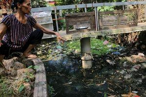 Hà Đông: Dân kêu than vì ô nhiễm rãnh nước thải nhiều năm vẫn chưa được xử lý
