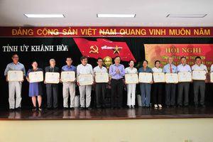 Khánh Hòa: Cơ bản hoàn thành công tác chuẩn bị Đại hội các cấp