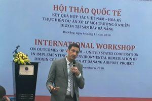Hội thảo quốc tế về xử lý dioxin ở sân bay Đà Nẵng