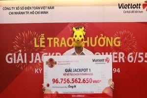 Đã tìm ra chủ nhân của giải Vietlott độc đắc gần 97 tỉ đồng