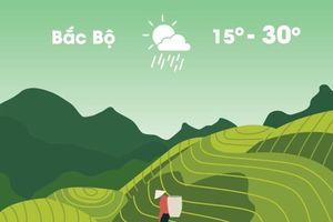 Thời tiết ngày 6/11: Bắc Bộ mưa dông trước khi chuyển lạnh
