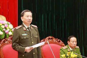 Bộ trưởng Tô Lâm: Tập trung đấu tranh phòng, chống các loại tội phạm