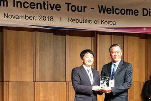 Saigontourist đoạt giải 'Du lịch khen thưởng Hàn Quốc 2018'