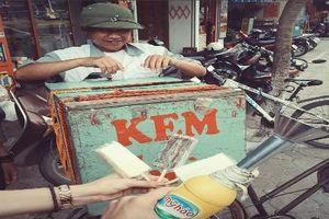 Thế hệ 8X, 9X hoài niệm về xe bán kem 'ngày xửa, ngày xưa'