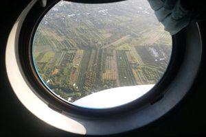 Sông nước Cửu Long nhìn từ cửa sổ trực thăng Mi-8