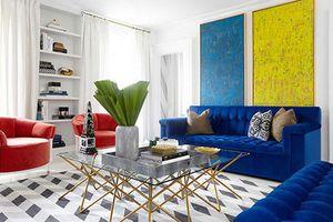 Trang trí nhà với những gam màu tương phản làm bật lên cá tính
