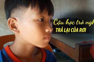 Cậu học trò nghèo trả lại của rơi được Chủ tịch nước tặng ảnh Bác Hồ