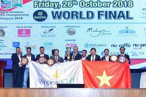 Những khoảnh khắc làm nên kỳ tích vô địch WAGC của đội tuyển golf VN