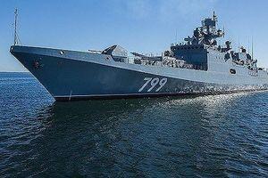 Giữa căng thẳng Syria, Nga điều tàu khu trục tới Địa Trung Hải