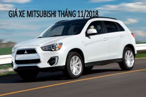 Bảng giá xe Mitsubishi tháng 11/2018: Xpander, Pajero Sport trở thành tâm điểm