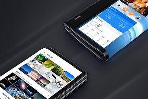 Samsung chịu bẻ cong lô-gô để hé lộ smartphone màn hình gập